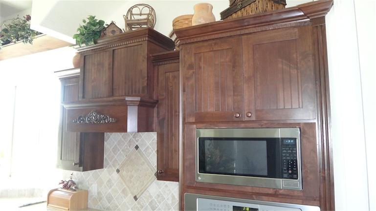 Custom Kitchen Cabinets Installation Complete Mbw Kitchen Makeover