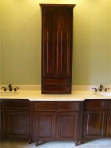 vanity bathroom remodel